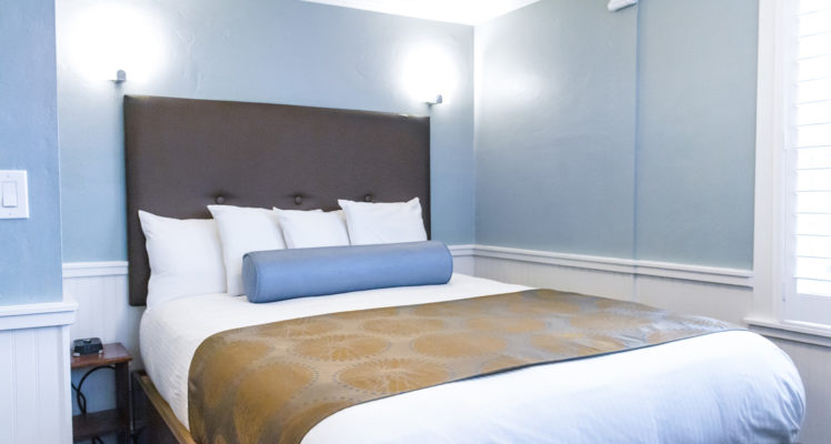 Sand Dollar Room offers a Queen bed, sleeps two and is not dog friendly.