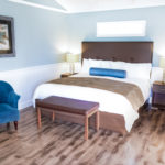 Sand Piper Room has a King bed and sleeps two