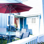 Water Tower Cottage has a private gated yard with dining and is pet friendly.